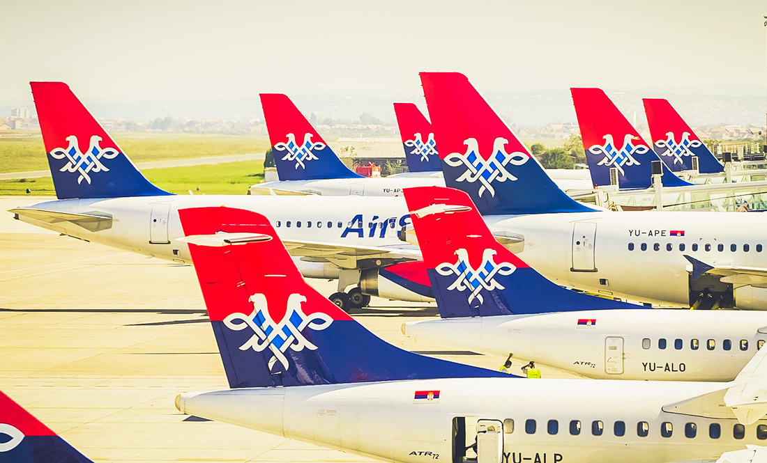 Air Serbia has introduced payment for check-in at the airport
