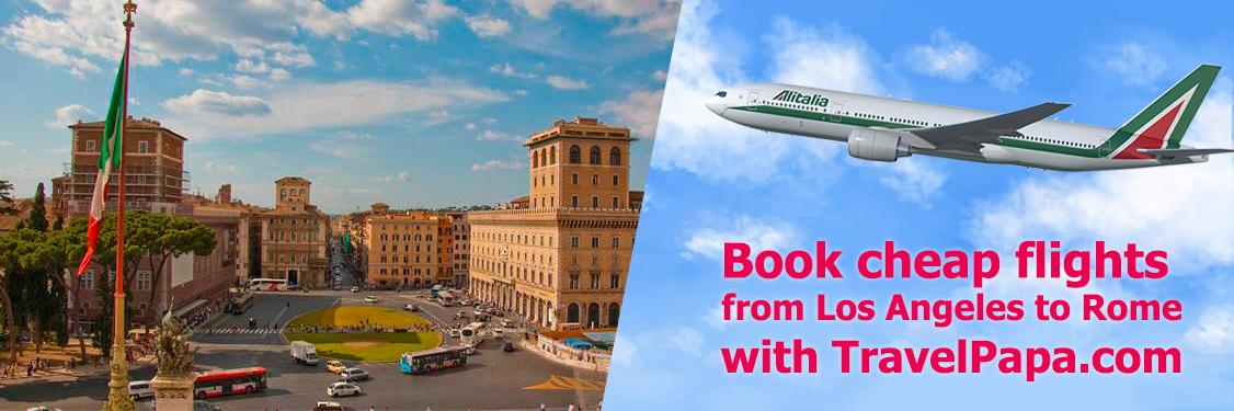 Loty z Los Angeles do Rzymu z Alitalia